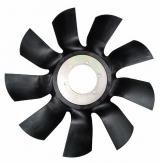 Крыльчатка вентилятора d-640, 9 лопастей Cummins ISBe185, 210, 245, 275, 285, 300 20004620