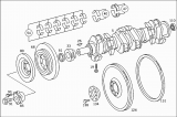 Вал коленчатый Mercedes-benz OM366, A, LA A3660311201