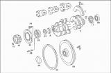 Вал коленчатый Mercedes-benz OM421, A, LA 4210302501, 4210301701